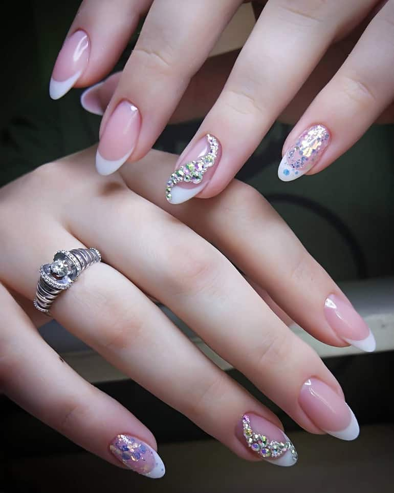 Top 10 Best And Unique Wedding Nails 2020 50 Photos Videos