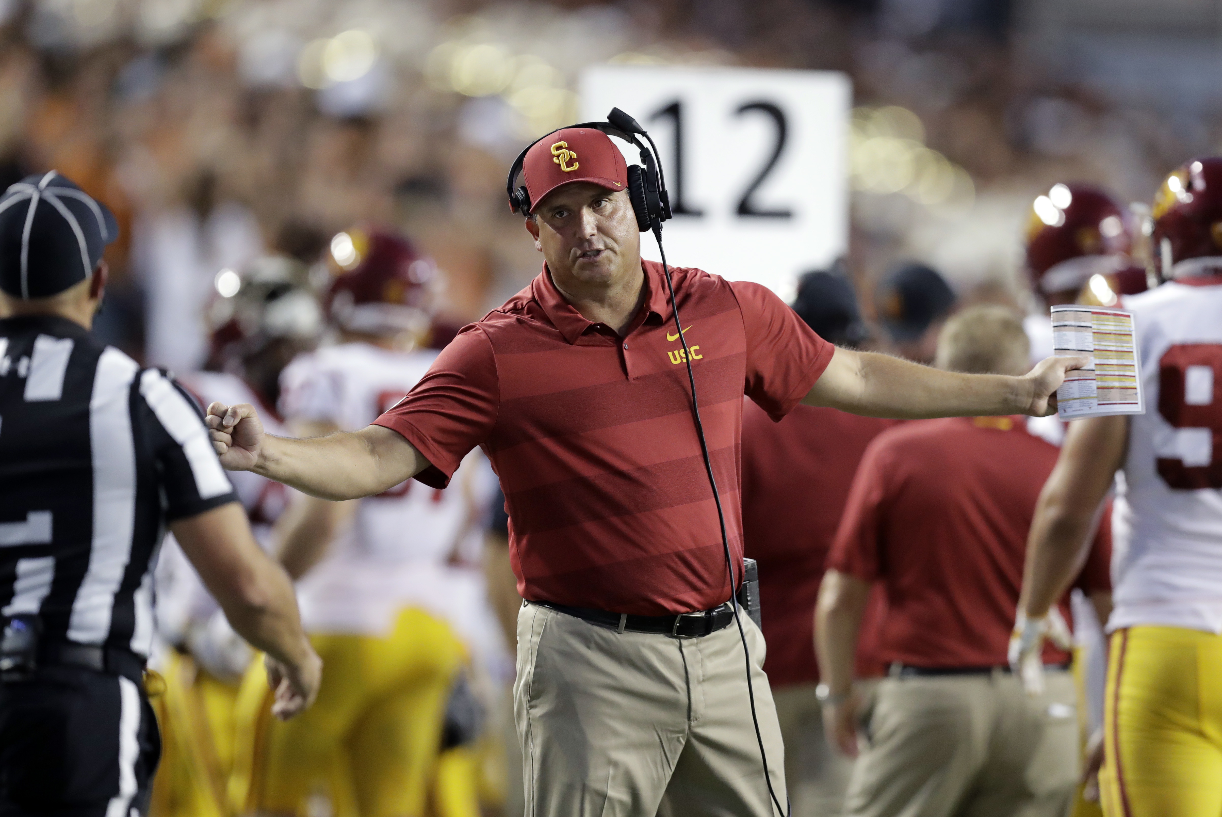 4bd5fb73d3a Why it ll be a shocker if Clay Helton is retained as USC s Coach ...