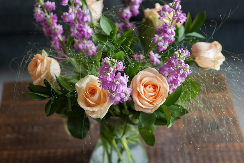 Closeup of Summer bouquet