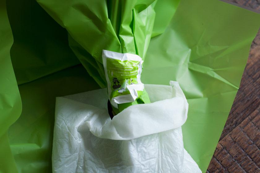 Wet bag for flowers