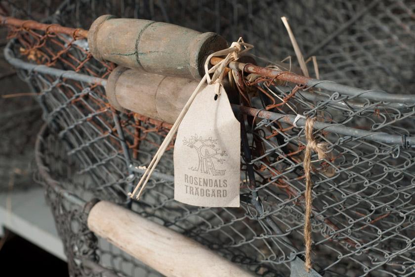 Rusty wire baskets