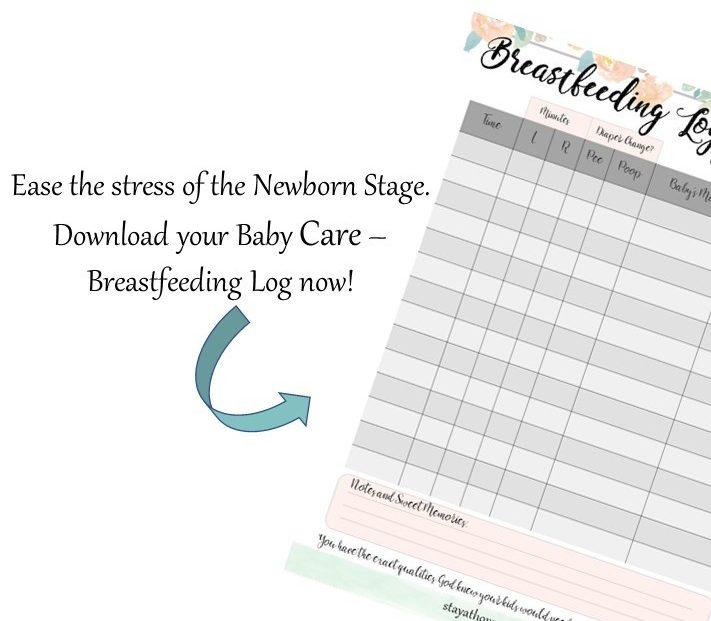 Breastfeeding and Baby Care Log