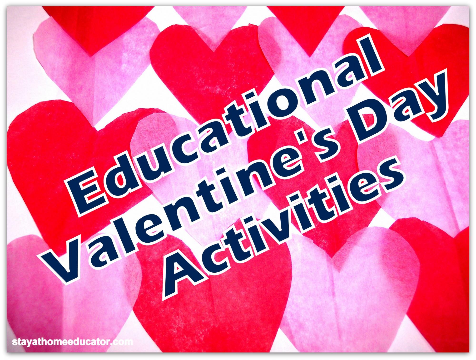 Preschool Co Op Valentine S Day Activities