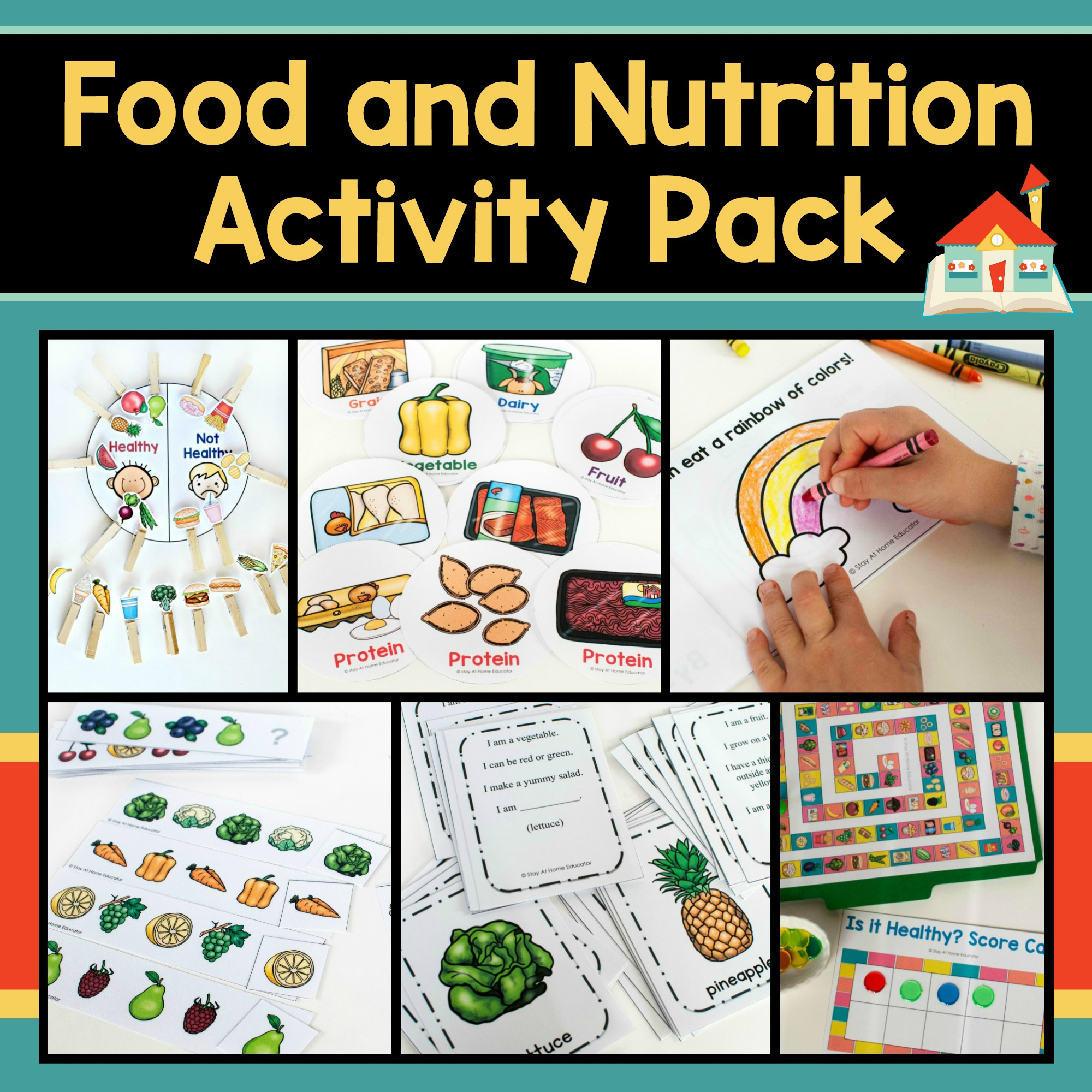 Worksheet Food Chain Activity
