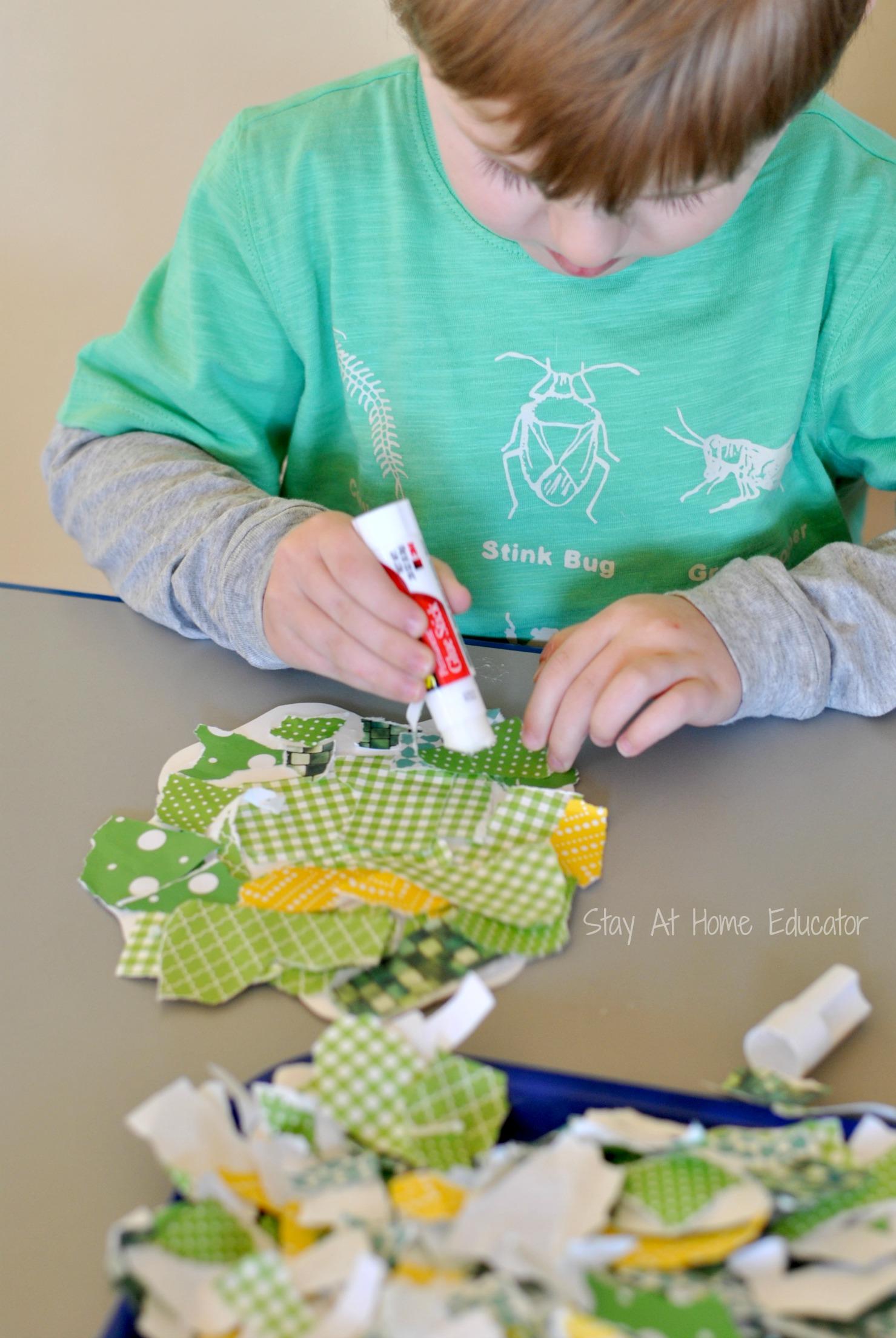 Shamrock Craft For Preschoolers