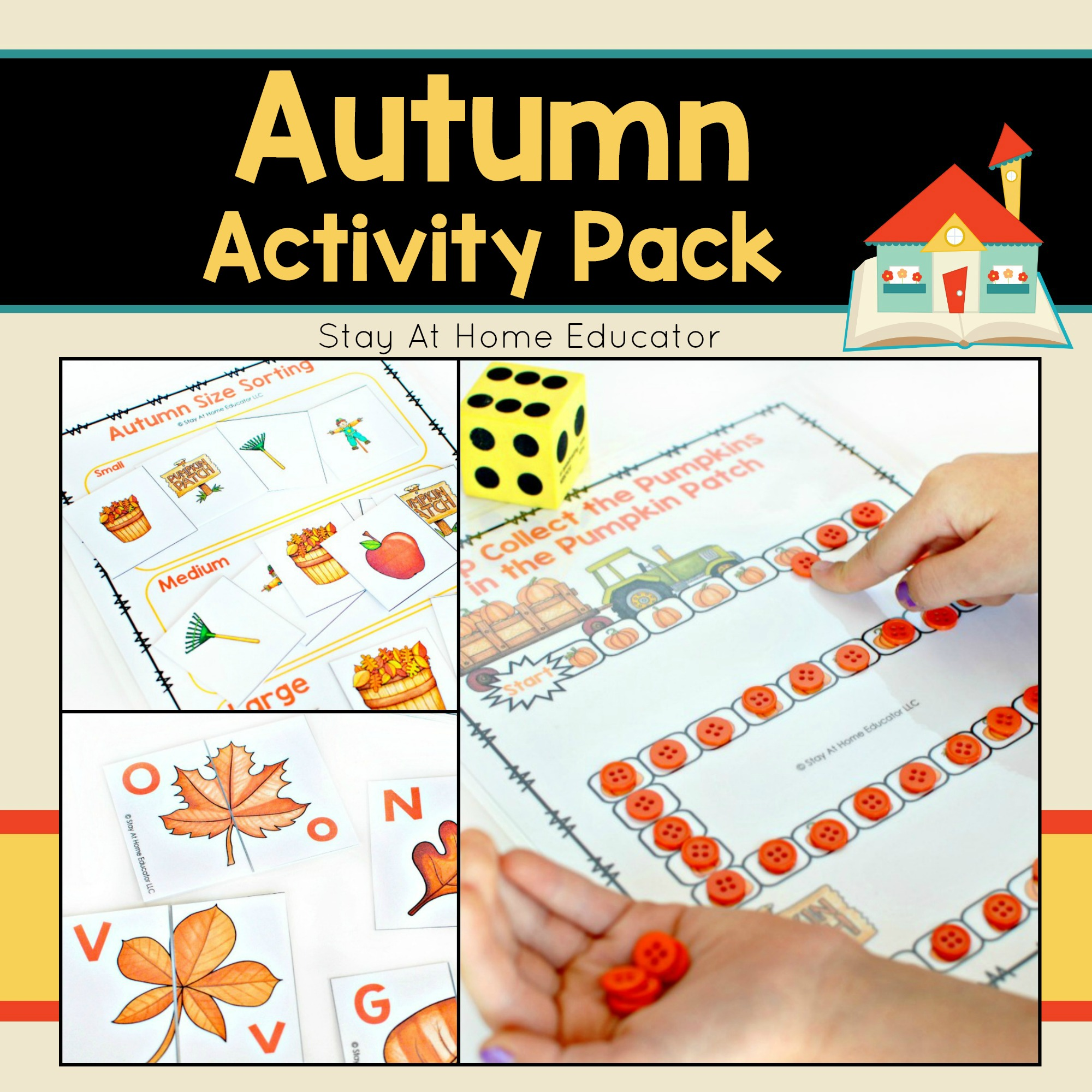 Autumn Activity Pack For Preschoolers