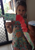 Chinese dragon activity found on Crayola website, quick and easy fun.