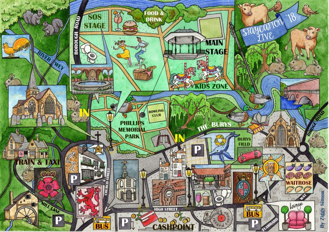A new map for Staycation Live