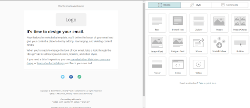 Mailchimp Email Template Creator