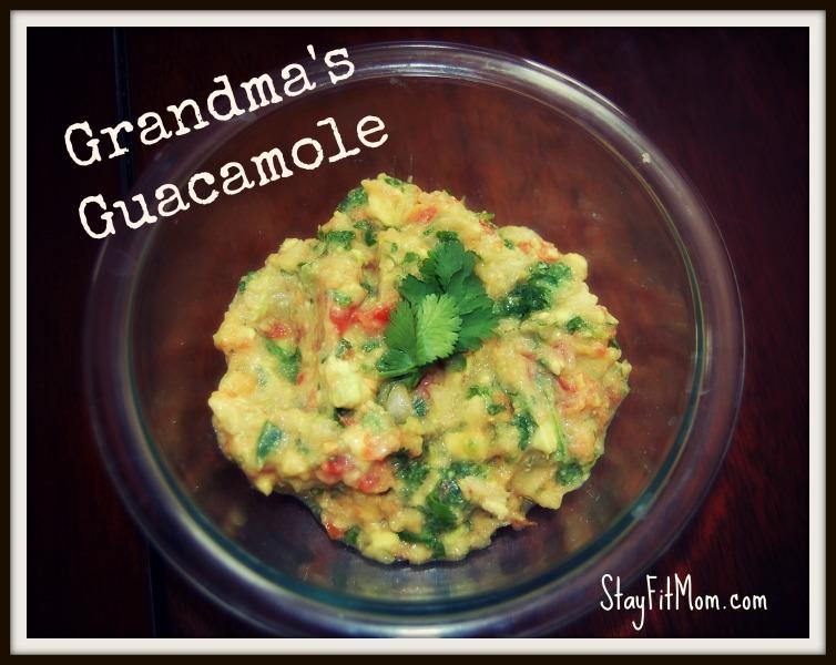 Grandma S Guacamole Stay Fit Mom