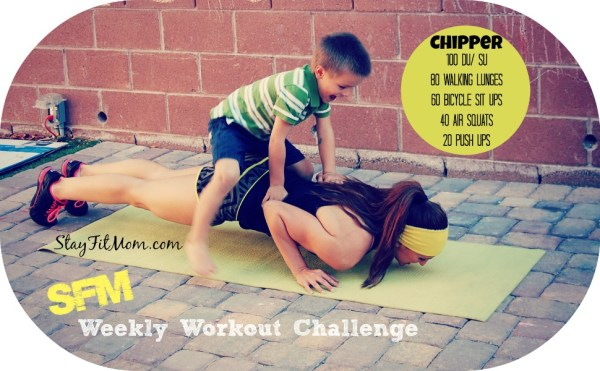 Chipper at home workout. All you need is a jump rope!
