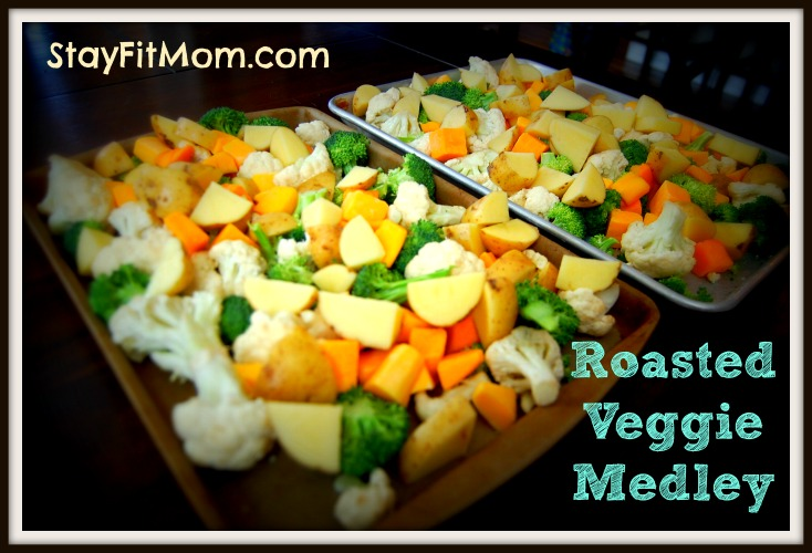 Gotta make this Roasted Veggie Medley for my meals this week!