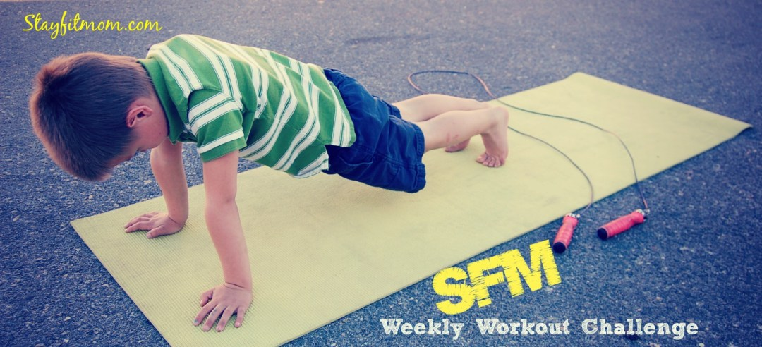 Stay Fit Mom posts FREE at home workouts each week that require little to no equipment!