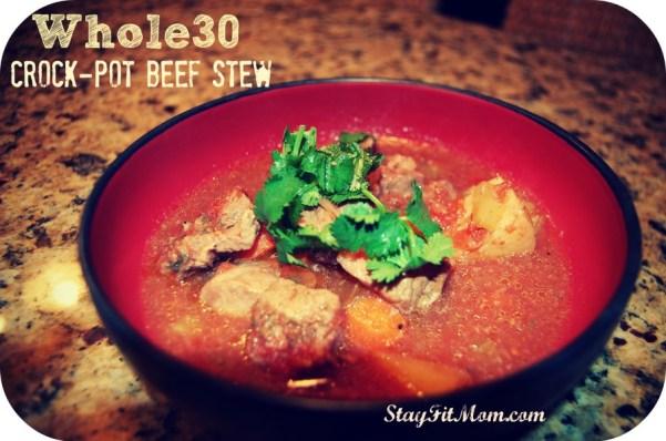 Whole30 Crockpot Stew made easy!