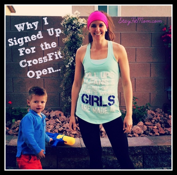 I signed up for the 2015 CrossFit open