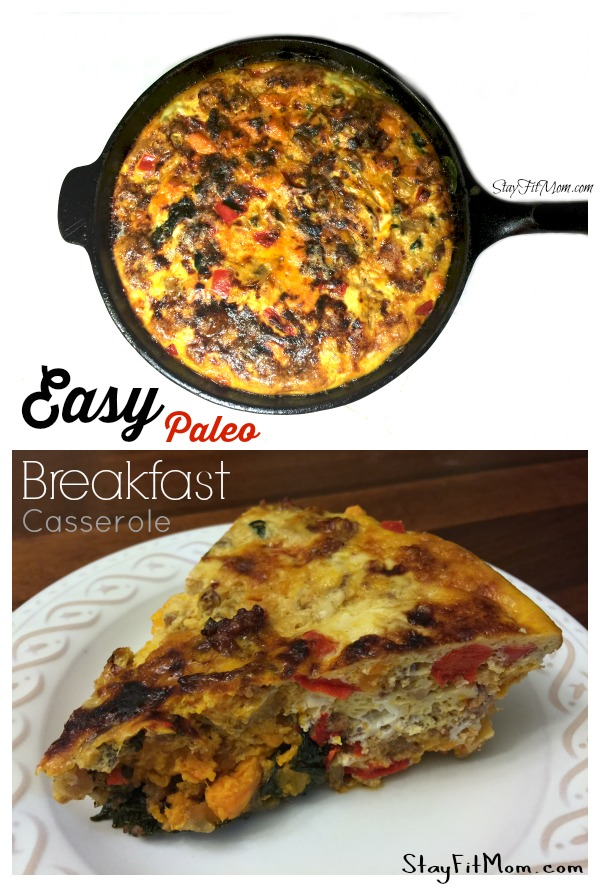 Easy Paleo Breakfast Casserole