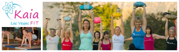 I want to look into these all women Kaia FIT classes...looks fun!