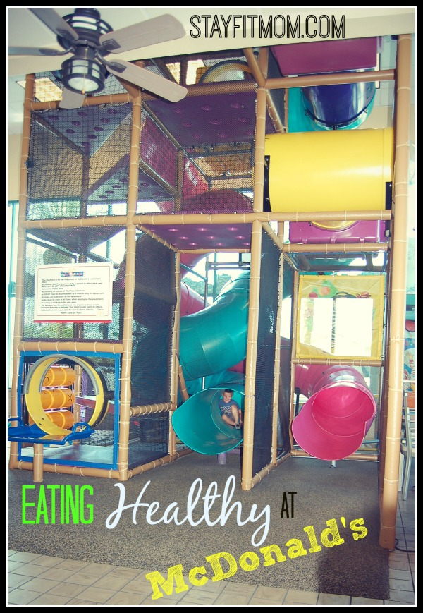 Eating healthy at McDonald's- What should I order?  Love this healthy dining series from Stayfitmom.com