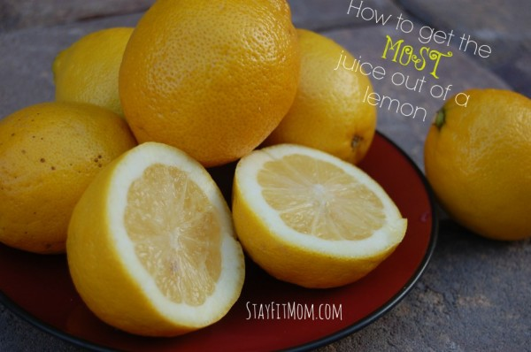 How to get the most juice out of a lemon. How come I haven't done this all along?