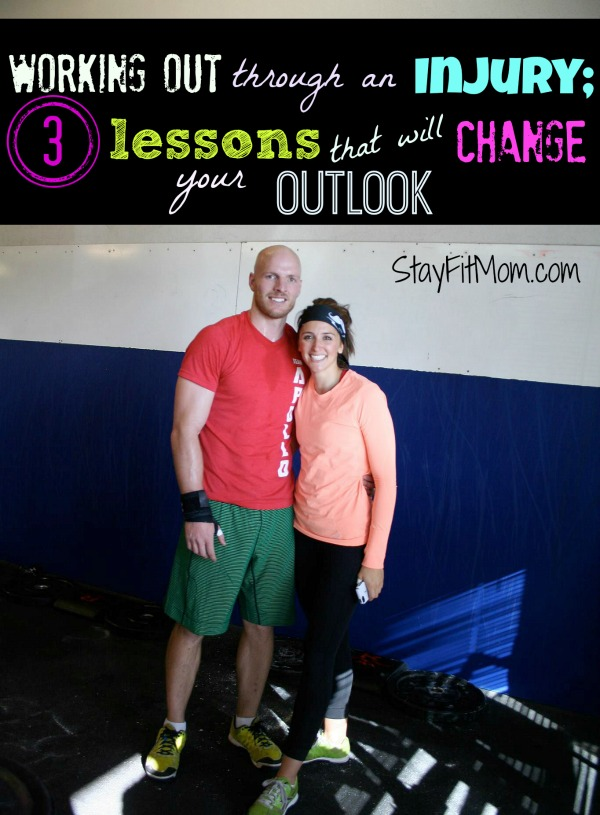 Love this article about working out through an injury by StayFitMom.com