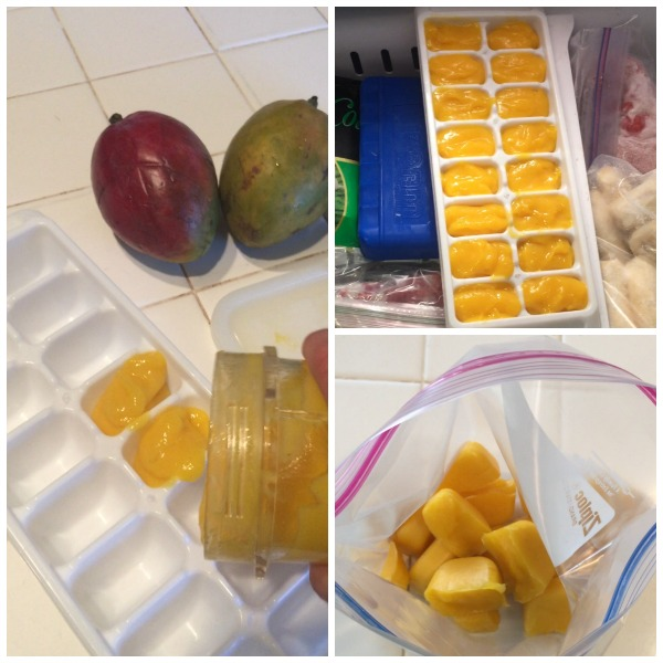 simple way to use those ripe mangos.
