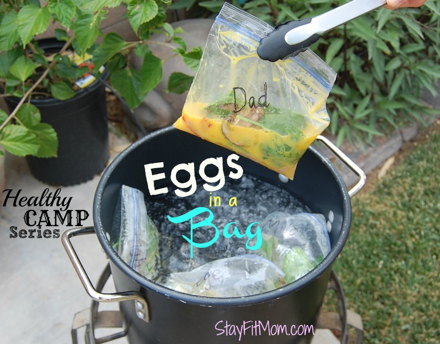 The perfect healthy camp breakfast! Love this Healthy Camp Series from StayFitMom.com!