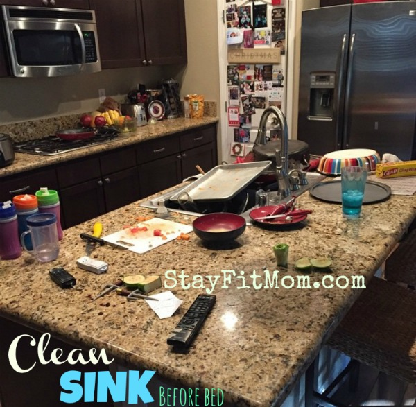 Love these household tips for time management from StayFitMom.com.