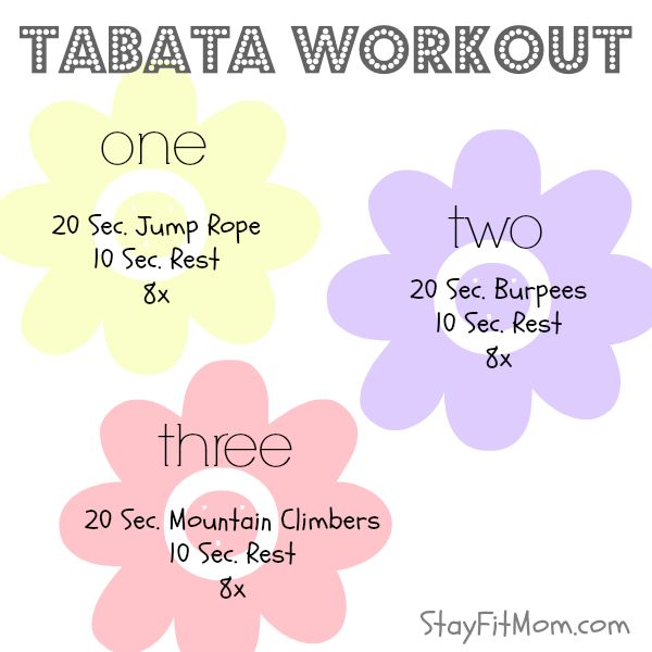 Great workout to do at home!