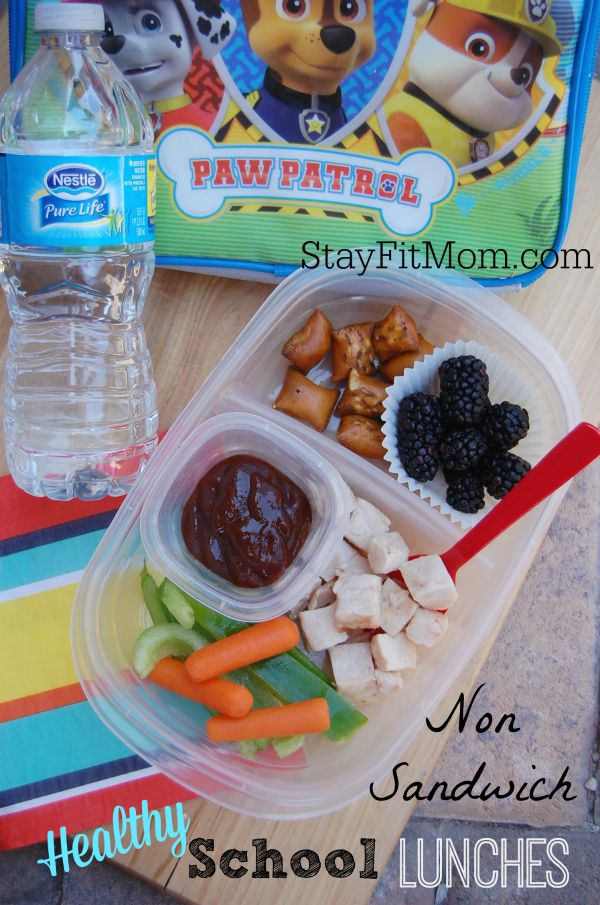 Love switching it up with these non sandwich lunch ideas from StayFitMom.com