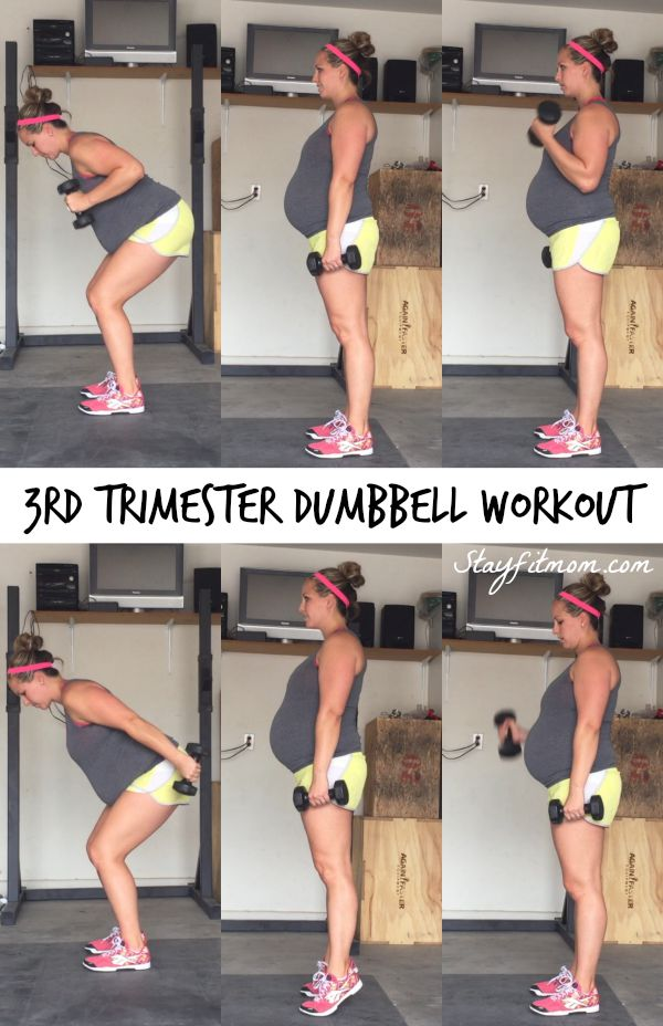 At Home Dumbbell Workout - Stay Fit Mom