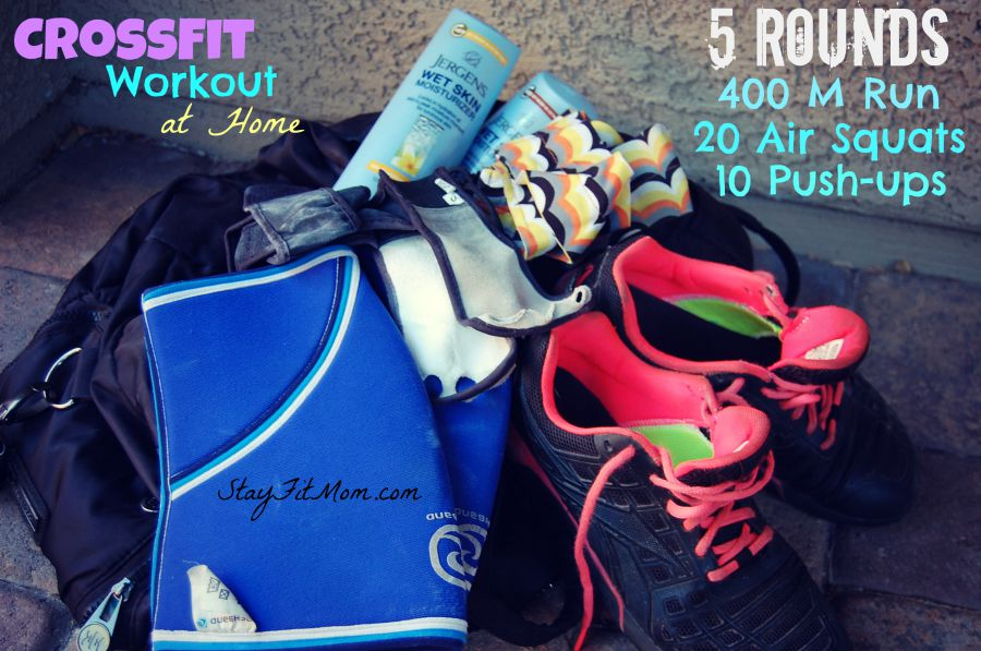 At home CrossFit Workouts you can do with your kids around from StayFitMom.com!
