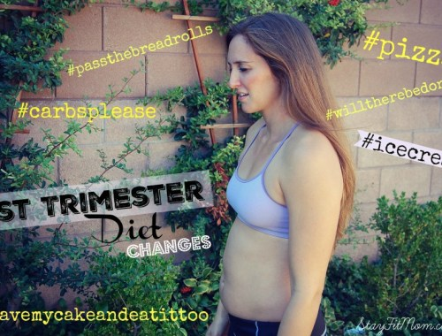 Embracing the body changes that come with pregnancy from StayFitmom.com