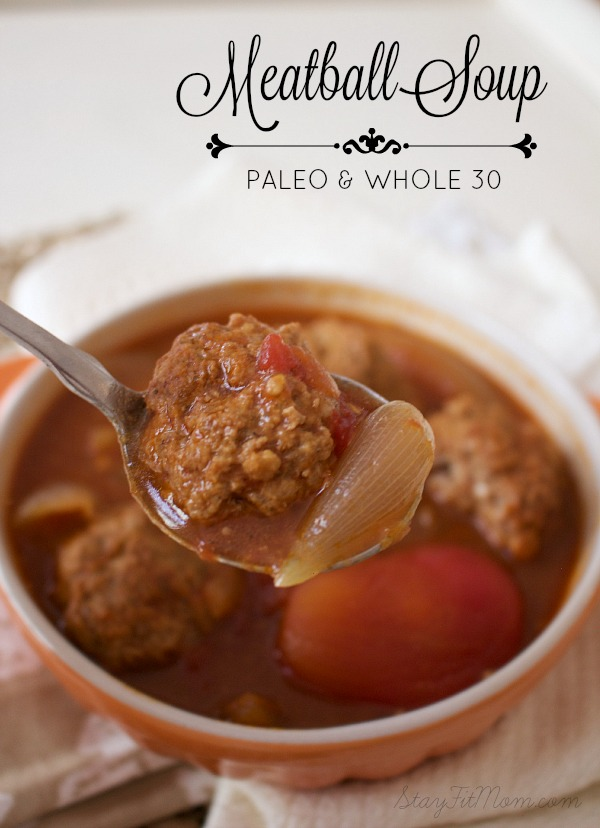 My favorite paleo soup to date! This was way easier to make than I thought.