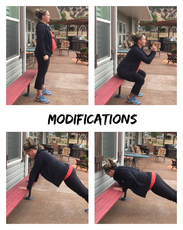 Great workouts for anyone. Modifications always given for beginers