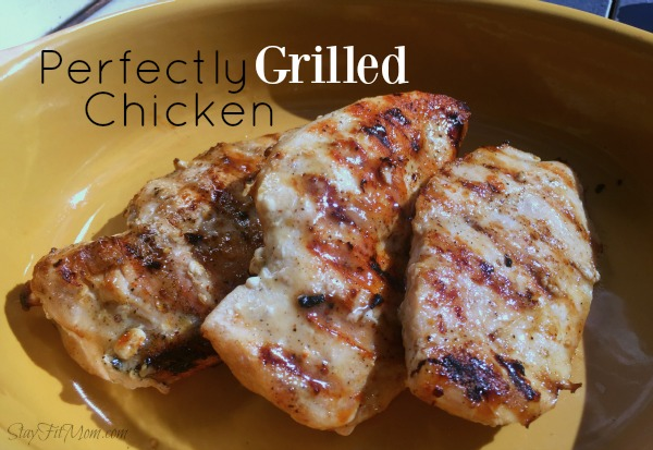 Perfect grilled chicken overtime using frozen chicken breasts! Never have dry chicken again using this easy method.
