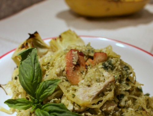 A healthier alternative to traditional pasta. You will love this dish!
