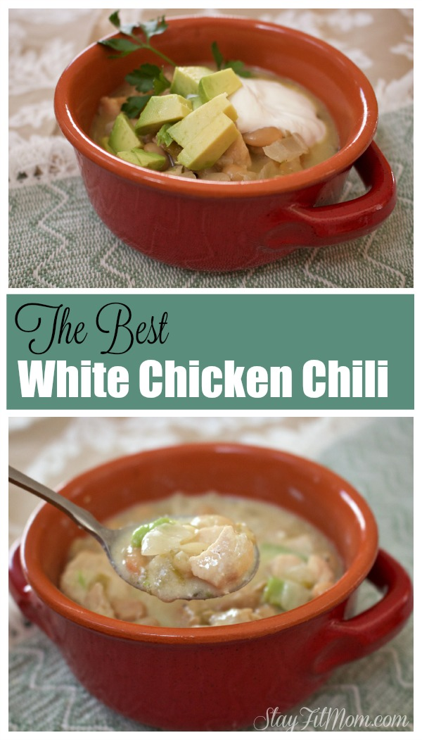 The Best White Chicken Chili you have ever had! We make this multiple times every winter and is such an easy dish!