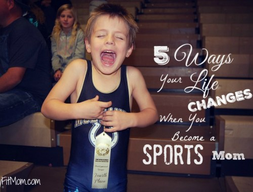 5 ways life changes when becoming a sports mom! Loved these from Stay Fit Mom, especially number 4!