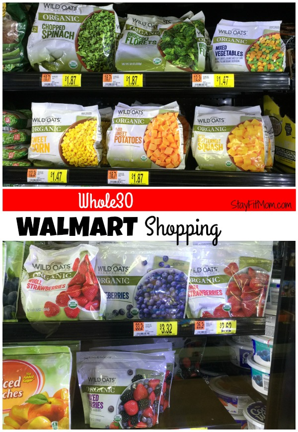 Whole30 Walmart Shopping List - Stay Fit Mom