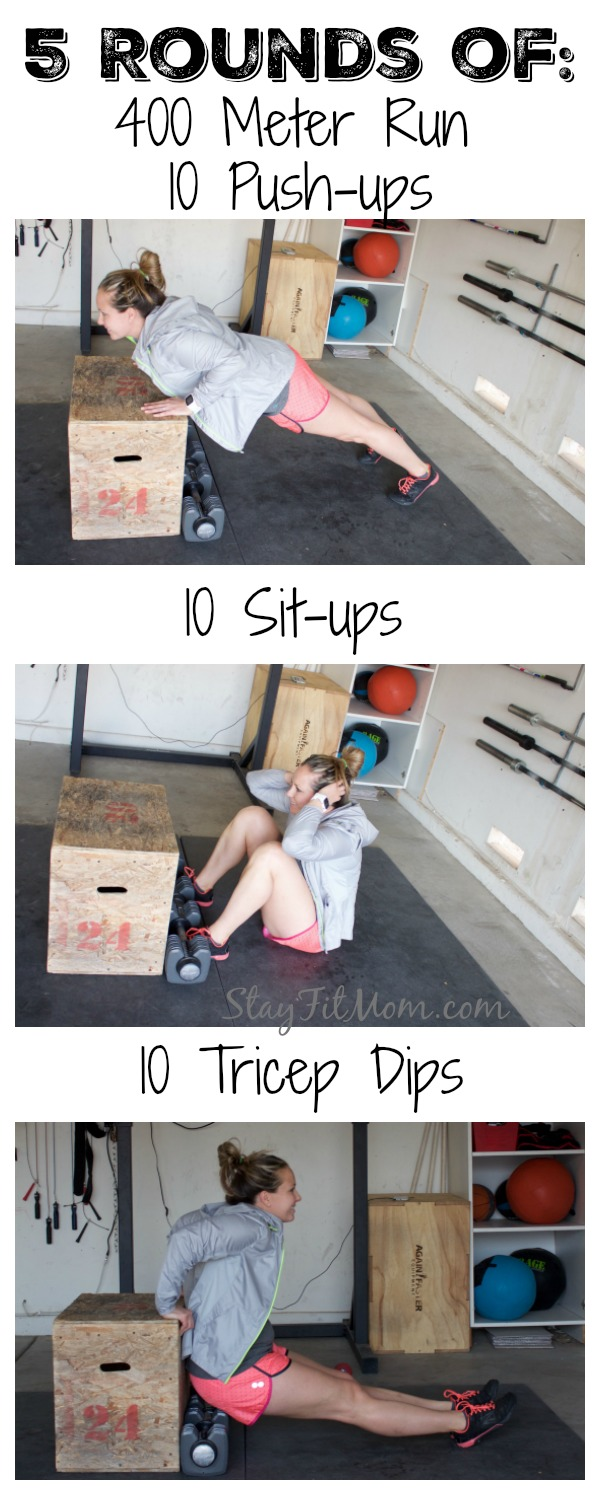 No equipment at home workout done in 25 minutes!