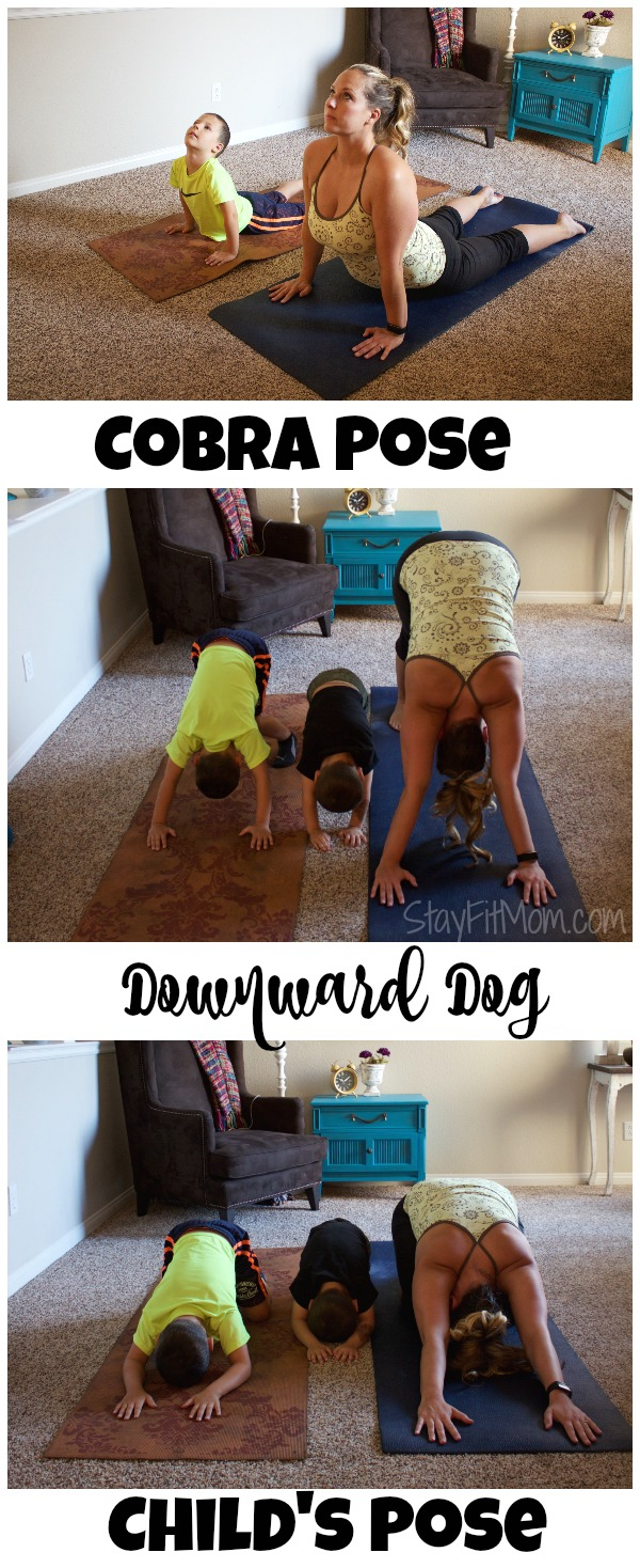 Fun and Easy Yoga Poses to do with your kids of all ages! #yogaday