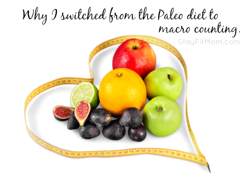 Good to know about macro counting vs. a paleo diet