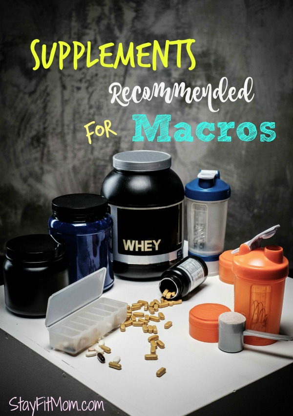 Great supplement recommendations from StayFitMom.com!