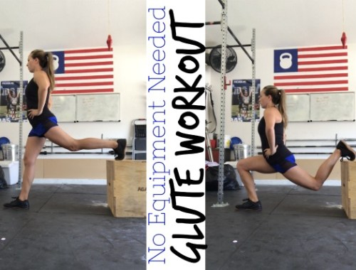No equipment needed, at home, glute workout to firm your butt!