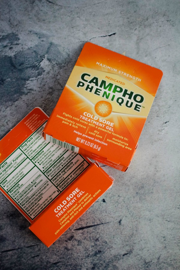 Cold Sore Relief from Campho-Phenique