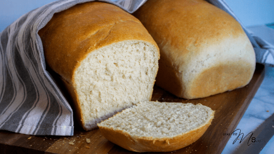 Step by step instructions for a classic white bread #stayfitmom #breadrecipe #bread #whitebread