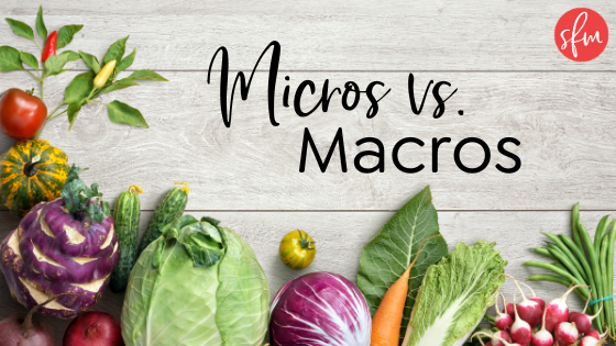 The importance and difference between the two. #macrodiet #macrocounting