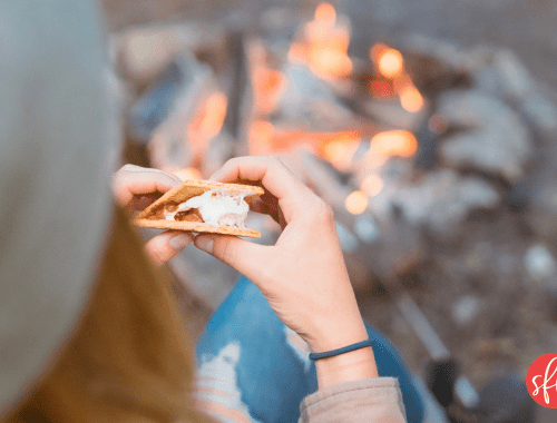 How to track your macros while camping #macros #macrosdiet #stayfitmom