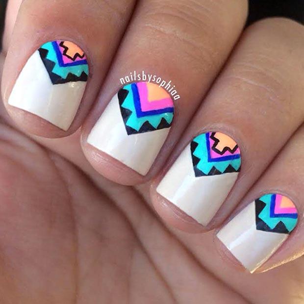 Nail Art For Short Nails