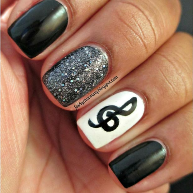 Easy Nail Art Designs For Short Nails 2016